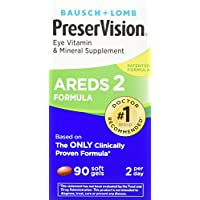 90-Count PreserVision AREDS 2 Eye Vitamin & Mineral Supplement (Packaging May Vary)