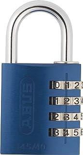 ABUS Cadenas antivol à combinaison 4 Chiffres - Bleu