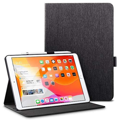 ESR Hülle für iPad 7. Generation Buchdeckel Schutzhülle Kompatibel mit iPad 10,2 2019-Leicht Urban Premium Folio Case mit Pencilhalter, Vielseitigem Ansichtsmodus&Auto Schlaf/Wachfunktion