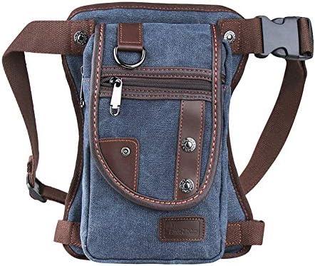 Genda 2Archer Canvas Sport Outdoor Multi pocket Leg Bag Dark Blue product image