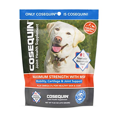 Top 10 best selling list for cosequin joint health supplement for dogs chews
