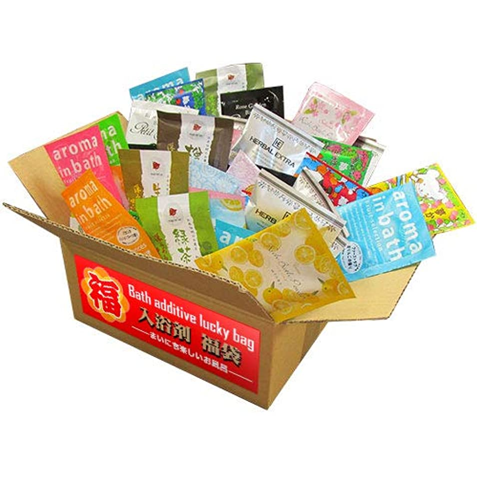 インデックス女性成り立つ日本製 入浴剤 福袋 おたのしみ おまかせ100個セット