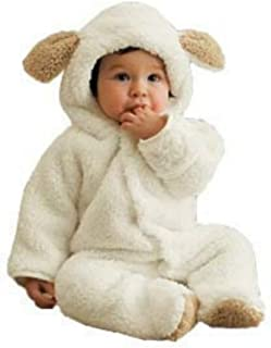 Baby Toddler Winter Cute Bear Fleece Romper