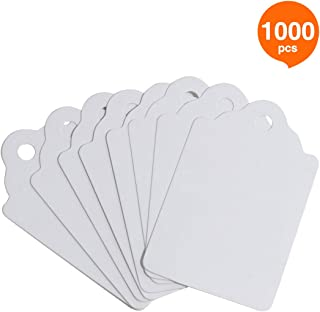 FEMELI Unstrung Marking Tags,1000 Pcs Price Tags,1.75 x 1.1 Inches,White Merchandise Tags for Sale