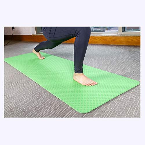 JiAN yogamat, yogamat, yogamat, yogamat, pilatesmat, gymnastiekmat, afmetingen: 183 x 61 x 0,8 cm, ftalaatvrij / van TPE-schuim / huidvriendelijk