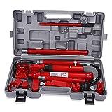 EBTOOLS Hidráulico Jack de 10 toneladas, Gato y martillos, Kit de reparación para Coche Kit de reparación Tool Heavy Set