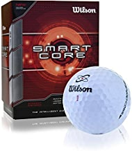 Wilson. Smart Core Golf Ball - Pack of 24 (White) (Limited Edition)