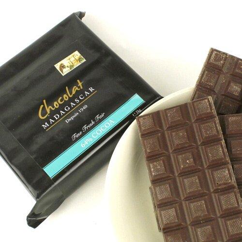 ショコラマダガスカル クーベルチュール チョコレート (ダーク64%, 1KG)