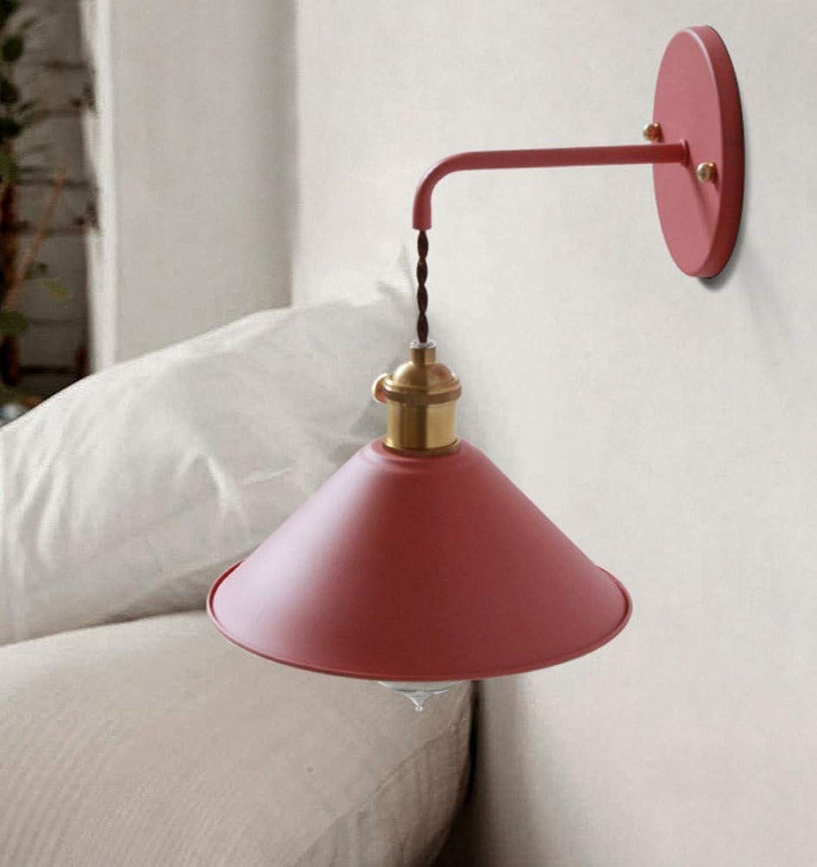 Hieni Kreative Moderne Wohnzimmergangschlafzimmertreppen-Nachttischlampe Macaron-Wandlampe