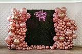 Cavore Ballongirlanden Kit – 2x5m Doppelloch Ballonband & 200 Klebepunkte (4 Rollen) – Partydeko für Geburtstag und Hochzeit - 8