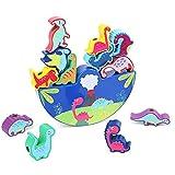 mementoy Dinosaurio que apila el regalo educativo del aprendizaje del juguete para los niños