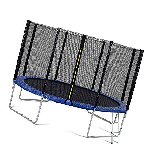 Trampolin Cama elástica Trampolín De Seguridad Deportivo Al Aire Libre Caja De Redes Adultos para Adultos Bounce Entrenamiento Redondo Trampolín
