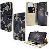 Premium Leather Cover For Sony Xperia L2 H3311, Magnetic