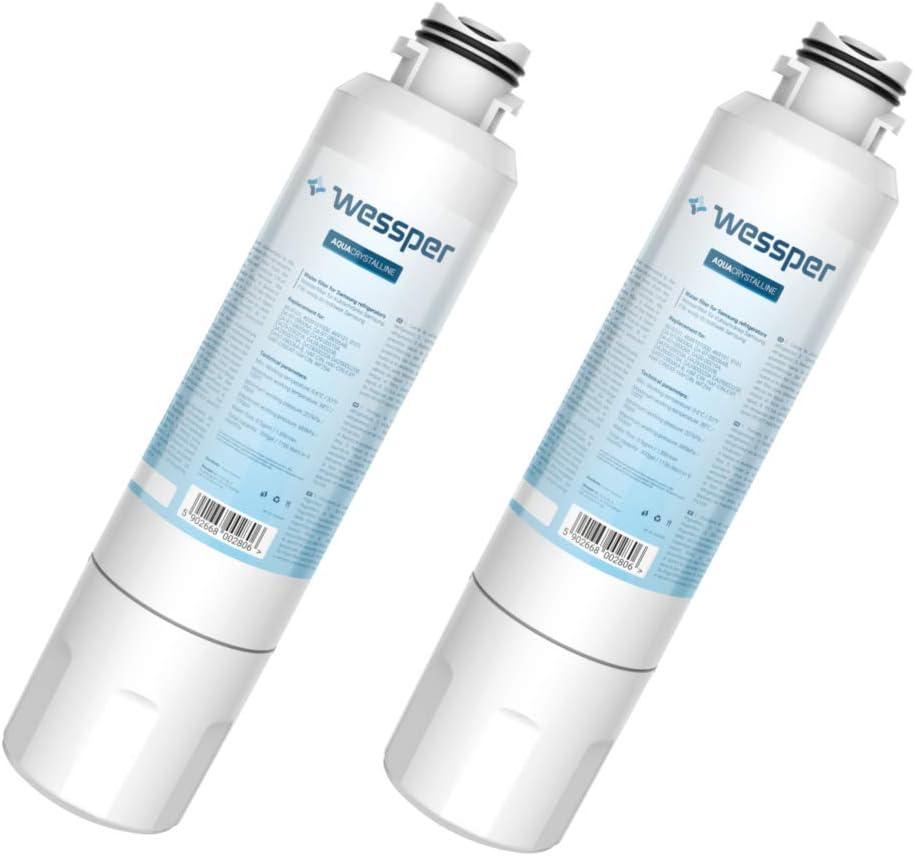 DA97-08006A-E HAFCIN DA97-08006A-B HAF-CIN//EXP HAF-CIN Wessper 2x Filtro de agua frigor/ífico compatible con Samsung DA29-00020B