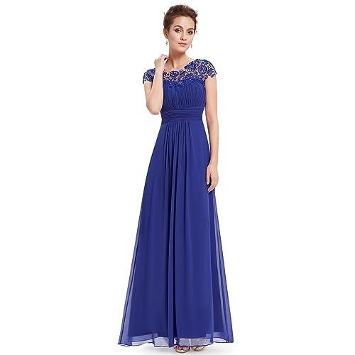 Sapphire Blue Semi Formal Dresses