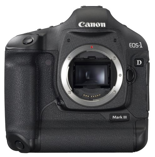 EOS 1D Mark III DSLR 10MP CF I/II SD SDHC 3IN LCD USB LI-ION