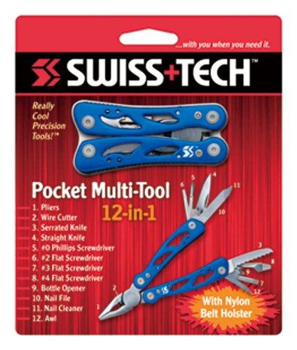 SWISS+TECH(スイステック)ポケットマルチツール12-in-112457