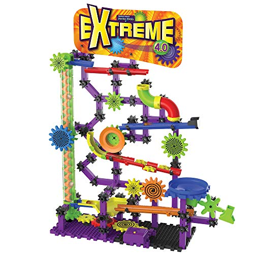 The Learning Journey Techno Gears Marble Mania STEM Construction Set - Extreme 4.0 Marble Run (200+ pieces) - Award Winning Learning Toys & Gifts for Boys & Girls Ages 6 Years and Up (455630)