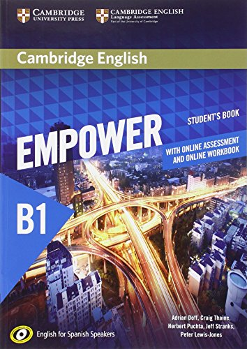Cambridge English Empower for Spanish Speakers B1 Student's Book with Online Assessment and Practice and Online Workbook