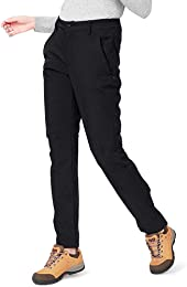 CAMEL CROWN Softshell Pantalon Femmes Coupe-Vent I