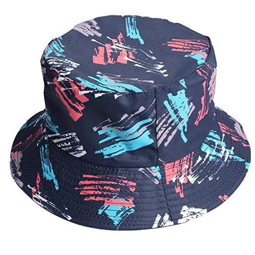 Chapeau Bob Femme Imprimé De Fleurs sur Les Deux Côtés Bucket Hat Fisherman Hat Chapeau De Voyage en Plein Air Chapeaux De Chapeau De Soleil pour Hommes Et Femmes-Style_1