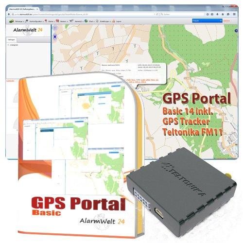 GPS Tracker Teltonika FM1100 inkl.12 Monate Ortungsportal