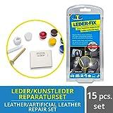 ATG – Autositzbezüge Lederreparaturset – Smart Repair Set für Leder, Kunstleder und Vinyl – 15 teilig