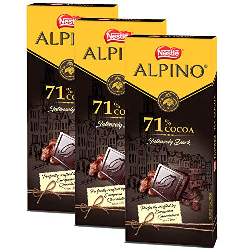 Nestle ALPINO 71% Cocoa - Intensely Dark Chocolate