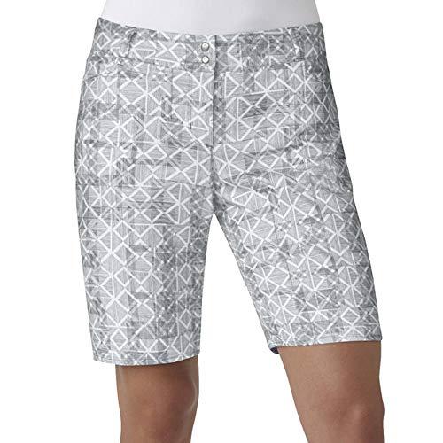 adidas Golf Essentials Printed Pantalón Corto, Mujer, Color Grey Three, tamaño Talla 12