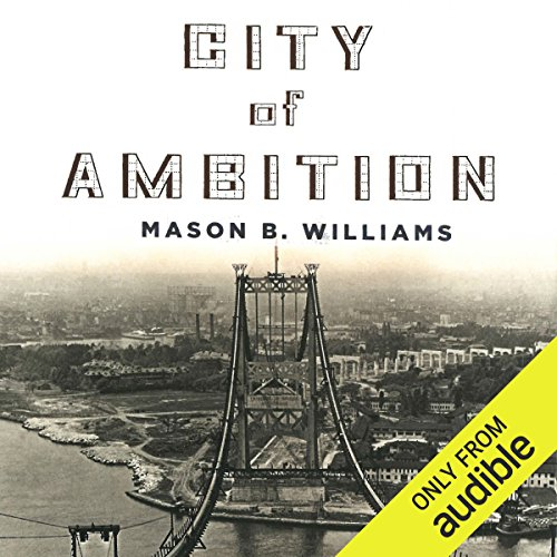 City of Ambition audiobook cover art
