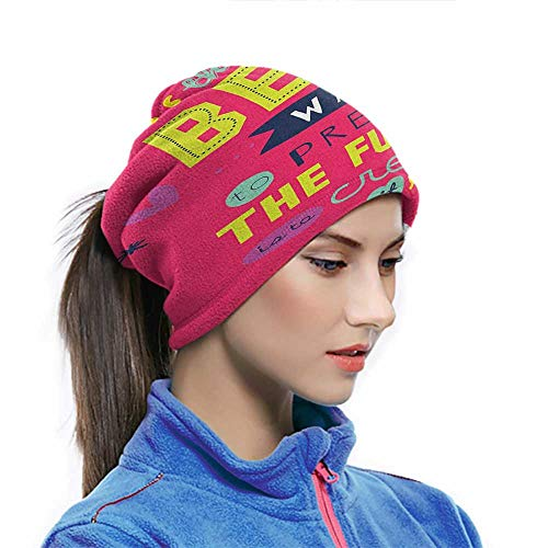 Bandana Face Cover Quotes Face Shield Breathable Cooling Face Scarf Cover Motivational Typography The Best Way to Predict Future is to Create it for Men Women Fishing Hunting 10x11.6 Inch