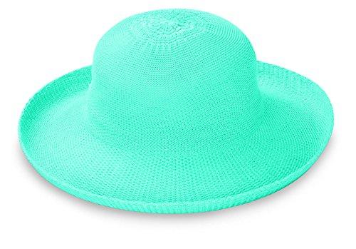 Wallaroo Hats Damen Hut Victoria, Türkis, One Size