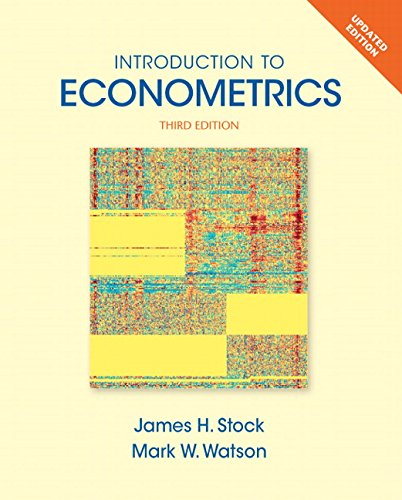 Introduction to Econometrics, Update (3rd Edition) (Pearson Series in Economics (Hardcover))