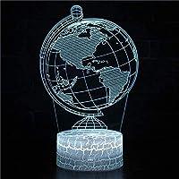3DナイトライトLEDベビースライドグローブ男性と女性の子供のためのスリープライトusbリモートコントロールとスマートタッチおもちゃハロウィーンナイトライト誕生日パーティーベッドルームギフト