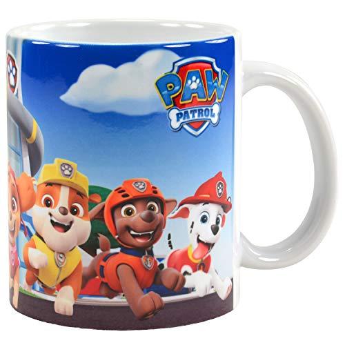 PAW PATROL Tasse - Team Kaffeetasse aus Porzellan 320 ml