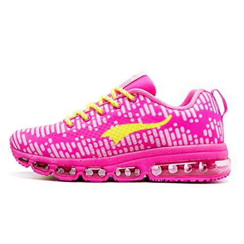 ONEMIX Hombre Mujer Zapatillas de Deporte Running Sneakers Zapatos para Correr Gimnasio Deportivas Transpirables Casual 1180 38EU