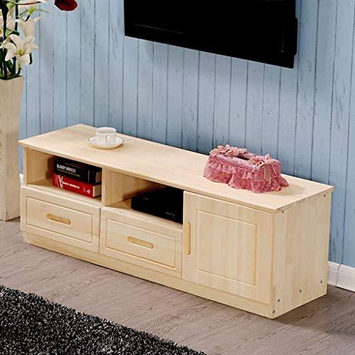 Console de télévision Meuble TV Console multimédia en bois avec tiroirs et étagère de rangement ouverte Table de canapé Table basse Salle de séjour Support multimédia Centre de divertissement Console