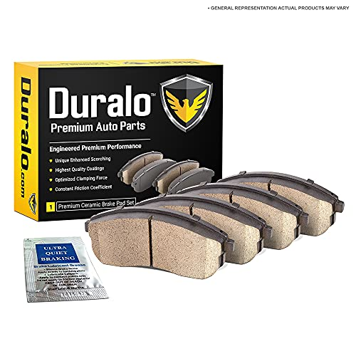 Duralo Ceramic Front Brake Pads For Jaguar S-Type Lincoln LS Ford Thunderbird - Duralo 144-1302 New