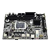 Tamkyo la Placa Base H55 DDR3 LGA 1156 Admite la Placa Base 3XSATA2.0 de Capacidad 2X4G para PC