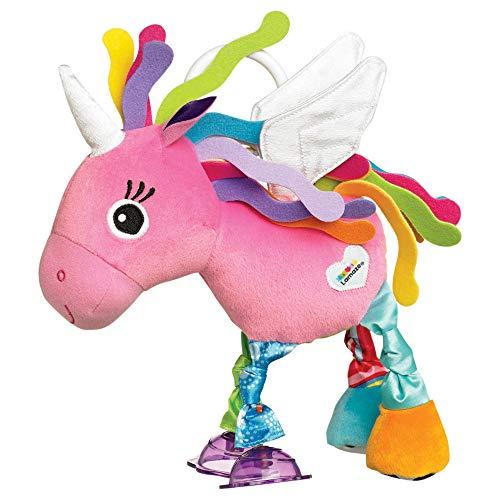 Lamaze Baby Spielzeug Ella, das Einhorn Clip & Go – Greifling mit Anhänger - Stoffspielzeug Kleinkind-Spielzeug – Motorikspielzeug zum...