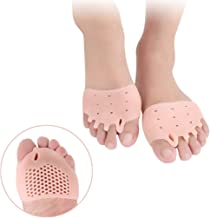 Metatarsal Pads - Ball of Foot Cushions Forefoot Cushion, Gel Toe Separator, Foot Pain Bunion Forefoot Cushioning Relief Women