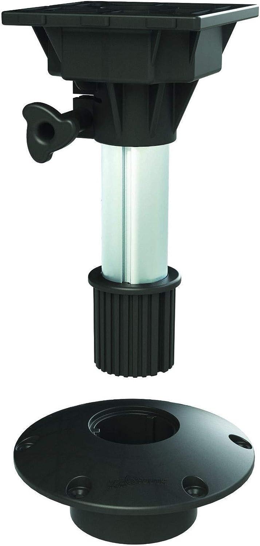 Boat Seat Socket Pedestal with Swivel Top 450mm