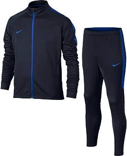8faebcaf3d50e Nike et NK Dry acdmy TRK Suit K survêtement, Unisexe Enfant Multicolore  (Obsidian/