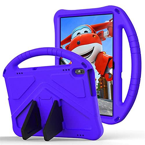 TTYYNN Estuche para tabletaPara Lenovo Tab M10 TB-X606 / X605 / X505 / X705 Funda de Mano a Prueba de GolpesFunda de Soporte de Mano para Lenovo Tab m8 TB-8505/8705, púrpura, Lenovo Tab M10 X306
