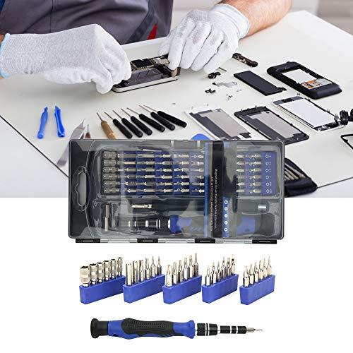 Set de destornillador, acero de vanadio de cromo Haba de acero de vanadio 20.5 x 10 x 2,7 cm para inquietud para desmontaje y mantenimiento de teléfonos móviles, televisores, teléfonos, vasos, CD,
