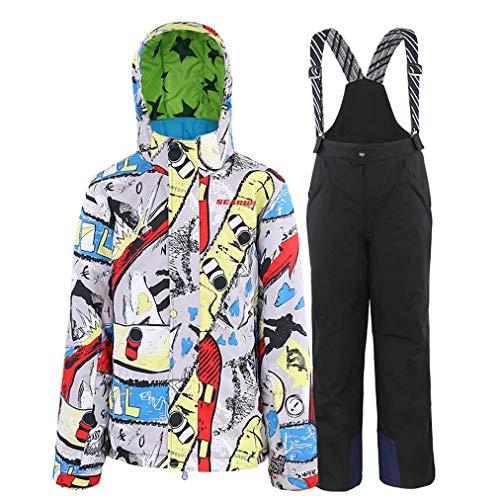 Skipak voor kinderen, topjack, truien, skipak, waterdicht, warm, snowboard, wintersport, outdoor, winddicht