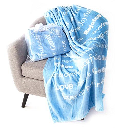 Faith Throw Blanket with Inspiration