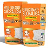 Sucralosa Ecologica Natural Edulcorante granulado Dulcilight Sucralosa Pack 2 doypack 400 gr= 4kg....