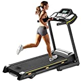 Find-Excellence Treadmill Electric Folding Running Machine with LED Display 0-14.8 KM/H Treadmills for Home
