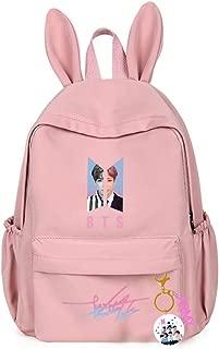 Aopostall BTS Merchandise,Kpop BTS Jimin Jungkook Suga V Casual School Backpack Travel Bag